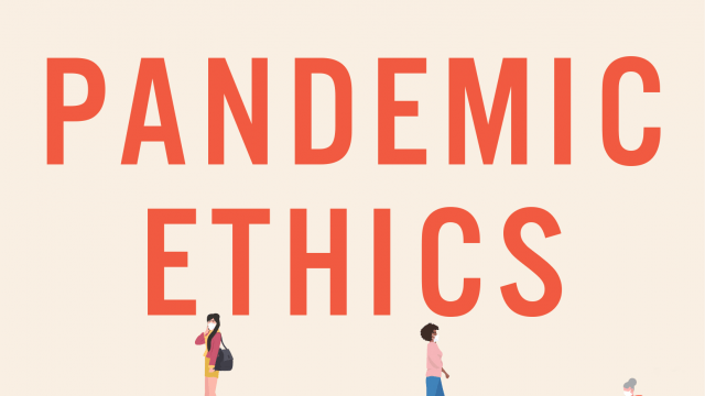 Pandemic Ethics - Dr Ben Bramble launches new book