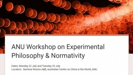 Experimental Philosophy and Normativity Workshop