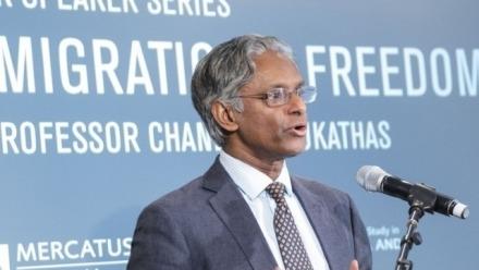 Philosophy warmly welcomes Professor Chandran Kukathas