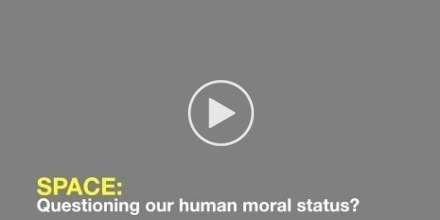 Space: Questioning our human moral status?